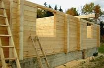 строительство домов из бревен Уфа